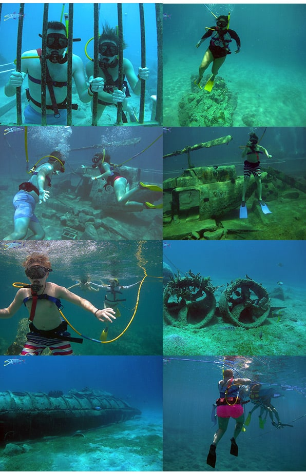 April 27 SNUBA diving with Freedom of the Seas