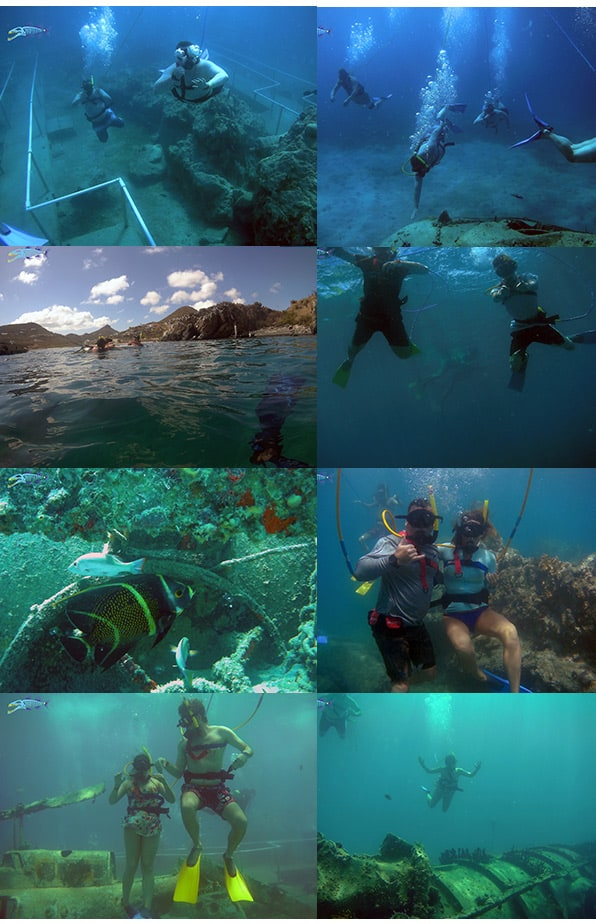 May 16, small group diving 1