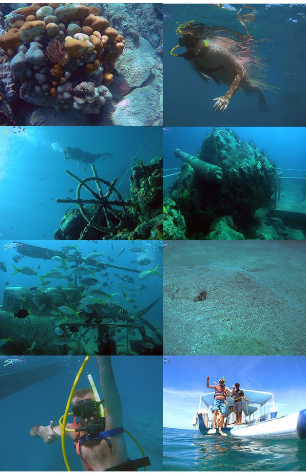 Sample of the downloadable pictures for SNUBA Excursion