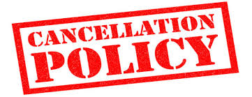 our cancellation policy. please make sure to have travel insurance
