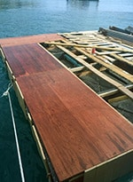 First-Deck-Plates after structural maintenance