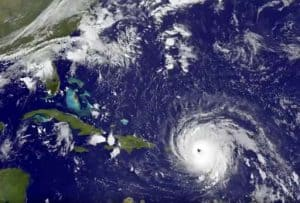Hurricane Irma WaterSports Platform Gone